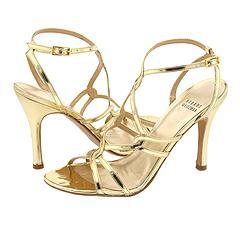stewart-weitzman-gold-heels