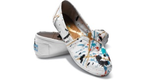 Hand-painted Tyler Ramsey TOMS
