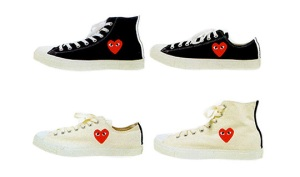 Play sneakers by Comme des Garcons and Converse