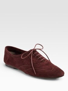 Joi Suede Lace-Ups
