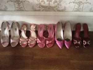 Is it possible to have too many pink shoes?