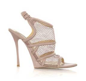Stella McCartney mesh basket sandal