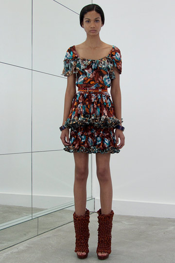 Also from Balenciaga's resort wear collection