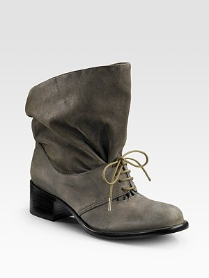 EJ LACEUP flat ankle boots